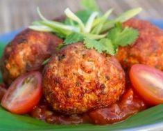 Albondigas légères (boulettes de viande mexicaines à la sauce tomate) : http://www.fourchette-et-bikini.fr/recettes/recettes-minceur/albondigas-legeres-boulettes-de-viande-mexicaines-la-sauce-tomate.html