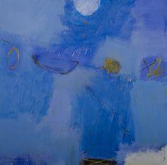 Rain in the Sunlight 5, 2008 acrylic on canvas 90x90cm by Tran Van Thao