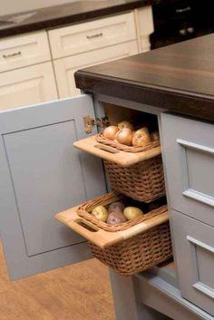 38 cheap kitchen storage ideas for home 35 cheap kitchen storage ideas for home 35 Cheap Kitchen Storage Ideas, Clever Kitchen Storage, Kitchen Storage Solutions, Kitchen Cabinet Organization, Storage Organization, Smart Kitchen, Awesome Kitchen, Kitchen Ideas, Country Kitchen