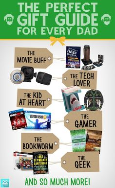 This huge gift guide is full of awesome holiday gift ideas that Dad (or any guy on your shopping list) will be thrilled to have this year. You want to get something for him that's extra special and suits his personality, or you just know someone who's notoriously hard to shop for? We have you covered.