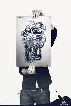 #Iliustration #Drawing #sketch #Ilustración #Illustrator #Creativo #Diseño Toxik