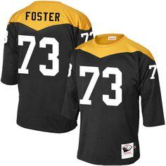 20a85815266 Mel Blount Men s Elite Black Jersey  Nike NFL Pittsburgh Steelers Home  47  1967 Throwback