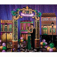 Our Rendezvous on Bourbon Street Kit will turn your event or prom into Bourbon Street.