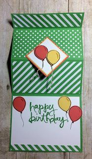 Kards by Kadie: Birthday Fold Out Card