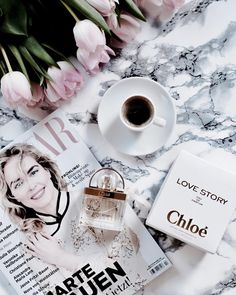 Chloé Lovestory  Flatlay  Coffee