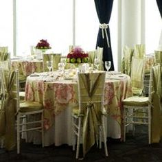 Toile Table covers--over the top or perfectly vintage?