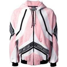 NASIR MAZHAR colour block sweatshirt (€1.070) ❤ liked on Polyvore featuring men's fashion, men's clothing, men's hoodies, men's sweatshirts and jackets