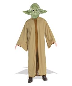 Look at this Star Wars Yoda Costume Set - Men on #zulily today!