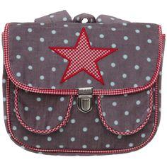 Cartable sac à dos taupe Etoile rouge : PlumPlori - Cartable maternelle - Berceau Magique