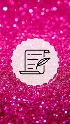 """Capas para destaques do instagram tema """" Glitter Rosa """"( para mais complementação segue o insta @capas_para_destaques_liih) Tumblr Wallpaper, Galaxy Wallpaper, One Word Quotes, Pink Glitter, Glitter Rosa, Mood Songs, Instagram Highlight Icons, Instagram Story, Eye Makeup"""