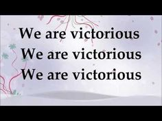 Donnie McClurkin - We Are Victorious ft Tye Tribbett - Lyrics - YouTube