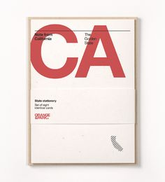 california stationery.