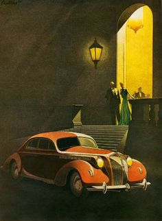 Art Deco : Photo 1938 Opel Admiral