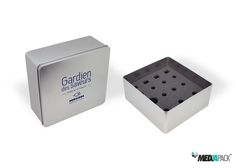 Caja de metal personalizada, con espuma para la empresa SODILIEGE.
