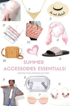 Summer Accessories Essentials (Great for Mother's Day Gifts!) - Instinctively en Vogue #summer #summerstyle #mothersday #giftsformom