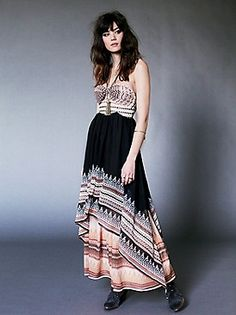 Free People Clothing Boutique > Indian Enchantment Maxi