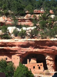 Cliff Dwellings - Manitou Springs, CO Manitou Springs Colorado, Canyon Colorado, Colorado City, Colorado Rockies, Wonderful Places, Beautiful Places, Amazing Places, Places To See, Places Ive Been
