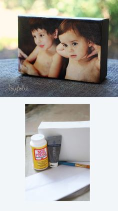 Give your photo a physical representation by printing it on canvas