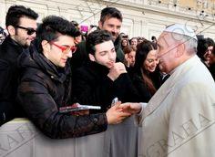 Il Volo & The Pope.