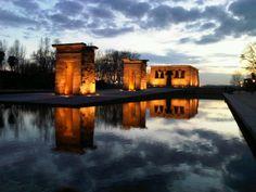 Madrid. Templo de Debot. Parque del Oeste.