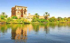 Philae Temple, Aswan http://www.shaspo.com/aswan-luxor-nile-cruises-egypt-nile-cruises