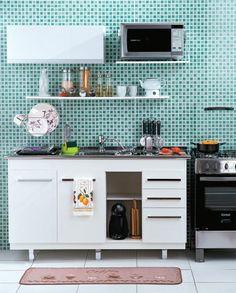 √ Decoration Ideas for a Beautiful Kitchen Interior Ikea, Bathroom Interior, New Kitchen, Kitchen Decor, Indian Home Decor, Cuisines Design, Apartment Kitchen, Beautiful Kitchens, Home Kitchens