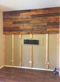 Rustic wood wall decor Rustic Wood Walls Decor Interior Design Basements Ideas For 2019 # Plank Walls, Wood Panel Walls, Wooden Walls, Wood Paneling, Wood Planks, Reclaimed Wood Walls, Distressed Wood Wall, Wooden Accent Wall, Accent Wall Bedroom
