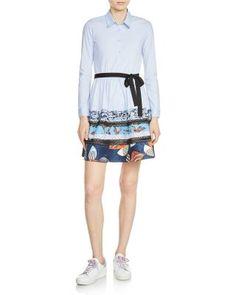 Maje Rafina Belted Dress | Bloomingdale's