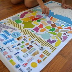 """Buy a full size (40"""" x 24"""") Peel & Play Wall Decal Set and get a matching mini set FREE! 43% off!! FREE Mini size is 11"""" x 17"""" and $22 Value For example, if you buy the large solar set you will get the mini version to take in the car, take to another classroom or use on trips."""