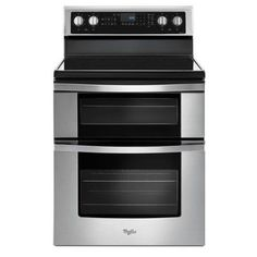 WGE745C0FS Whirlpool Double Oven Electric Range