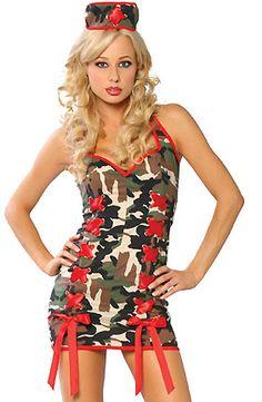 Sexy Army Nurse Costume