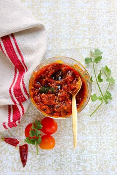 Plateful: Tomato Chutney – one more way to enjoy antioxidant rich tomatoes