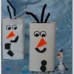 juice carton olaf snowman