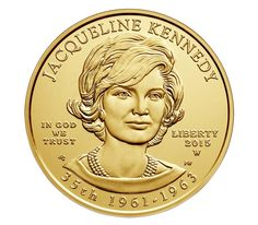 Jacqueline Kennedy 2015 First Spouse Series One-Half Ounce Gold Uncirculated CoinJacqueline Kennedy 2015 First Spouse Series One-Half Ounce Gold Uncirculated Coin,