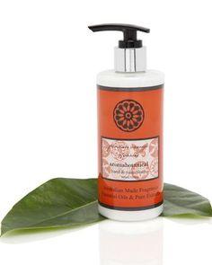 300ml Hand Cream New Fragrances, Hand Cream, Scented Candles, Orange