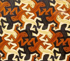 M. C. Escher y sus lagartos