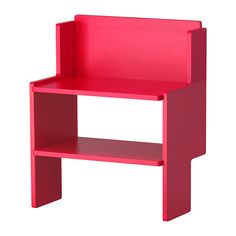 IKEA PS 2012  Bank mit Schuhablage, rot  44,99