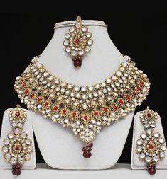 indian jewelry | Wedding Kundan Indian Jewelry Set