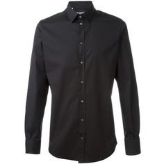 Dolce & Gabbana classic casual shirt (€300) ❤ liked on Polyvore featuring men's fashion, men's clothing, men's shirts, men's casual shirts, black, mens long sleeve casual shirts, mens longsleeve shirts, dolce gabbana mens shirts, mens long sleeve shirts and mens long sleeve collared shirts