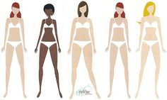 Do you know your Body Type?     Check out our Shape Guide to help you decide what types of Tops & Bottoms you should wear to flatter your Body Type!  modest clothing
