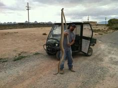 New Mexico can grow some rattle snakes...found at White Sands Missile Range.