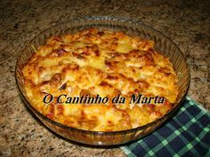 Quiches, Food C, Portuguese Recipes, Fish Dishes, Yams, Fish Recipes, I Foods, Macaroni And Cheese, Seafood