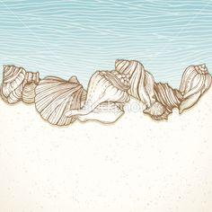http://i.istockimg.com/file_thumbview_approve/20263376/2/stock-illustration-20263376-seashells-on-a-beach-border.jpg