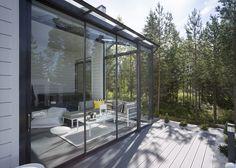 Patio Gazebo, Backyard Patio, Backyard Landscaping, Outdoor Spaces, Outdoor Living, Outdoor Decor, Screened Porch Designs, Modern Porch, Swimming Pool House