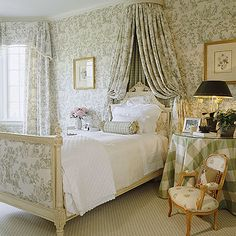 Toile and gingham - classic