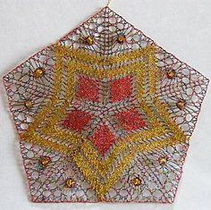 Two Pentagram Christmas Patterns