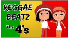 4 Times Tables Song (Reggae Beatz) Learn The Fun Way!