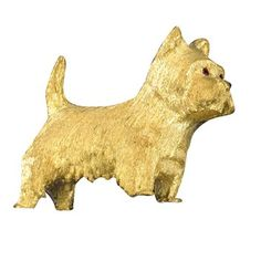 Highlands Terrier, West Highland Terrier, Dog Jewelry, Animal Jewelry, Scully And Scully, Cat Pin, Little Dogs, Dog Lovers, Dog Cat