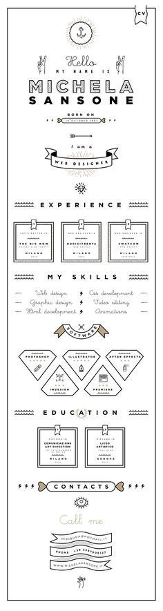 template cv original indesign gratuit