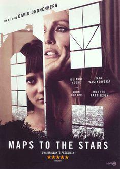 """""""Maps to the stars"""", Canadá, dirigida por David Cronenberg. Un cuento moderno sobre la obsesión por la popularidad. Stafford Weiss es terapeuta y escribe libros de autoayuda. Tiene una mujer sobreprotectora, un hijo antigua estrella de la TV en rehabilitación y una hija que acaba de salir del psiquiátrico. La principal cliente de Stafford es una famosa actriz, a punto de interpretar el papel que hizo su madre en los años 60."""